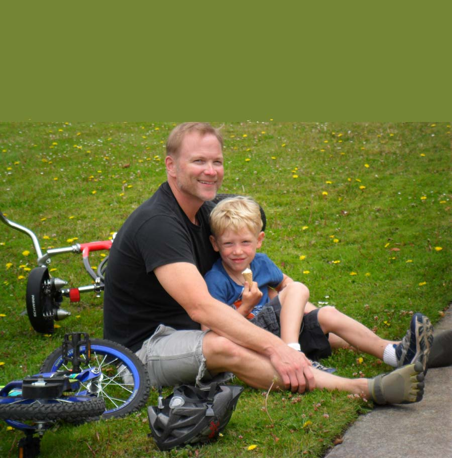 Father and Son Bike