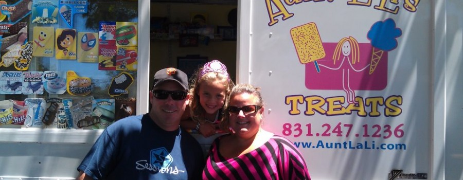 aunt lali ice cream truck birthday party